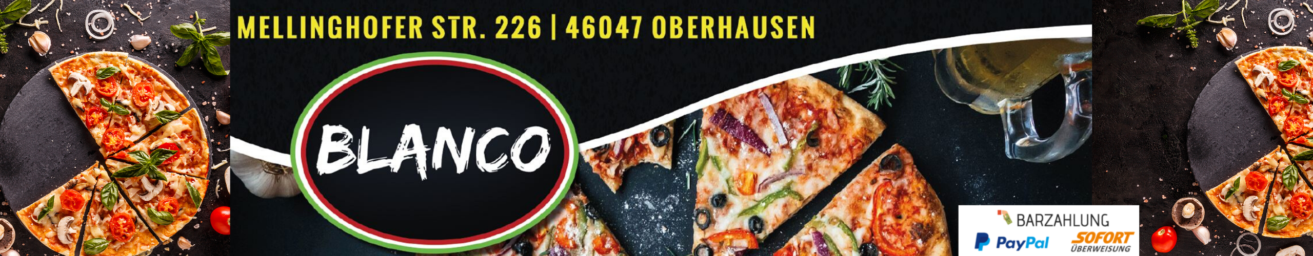 Pizzeria Blanco Oberhausen | -20 Prozent Rabatt auf alles!